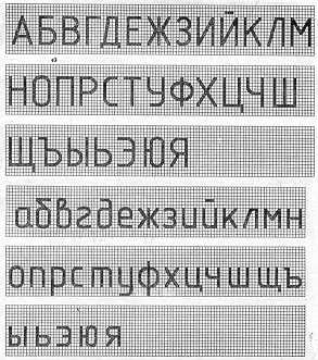 Шрифты чертежные (ескд).