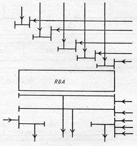 4.2. Логические элементы с п состояниями (например, с... Черт.  12. 4.1.  Двоичные логические элементы изображают в...
